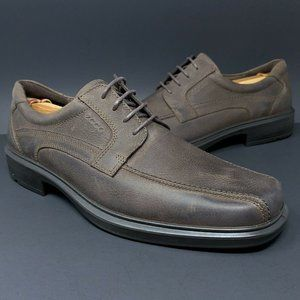 Ecco Light Shock Point Men's Casual Leather Shoes
